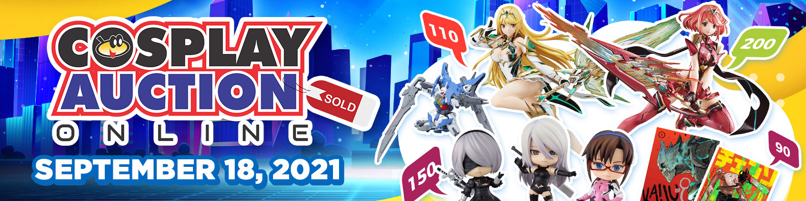 Cosplay Auction Online Vol. 8: Techtember